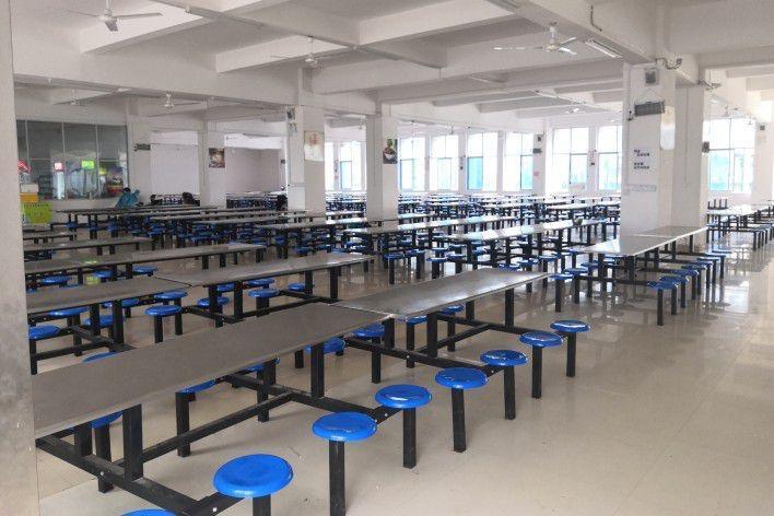 马鞍山工业学校校园环境